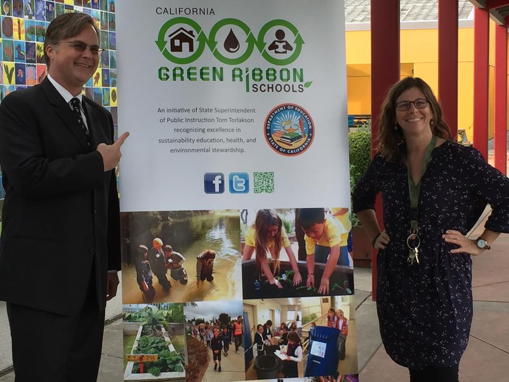 Green ribbon School Award